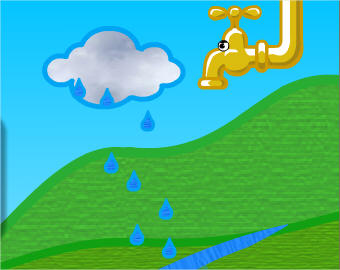 kleurplaten watervervuiling